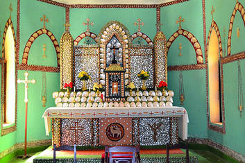Beagle Bay Church Pearl Shell Altar
