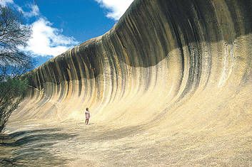 Wave Rock - that's big!
