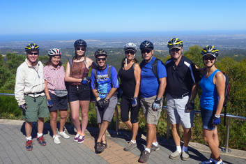 Mount Lofty Descents by Mountain Bike